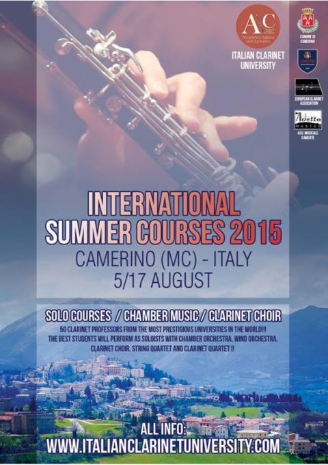 Camerino 5-10 August 2015